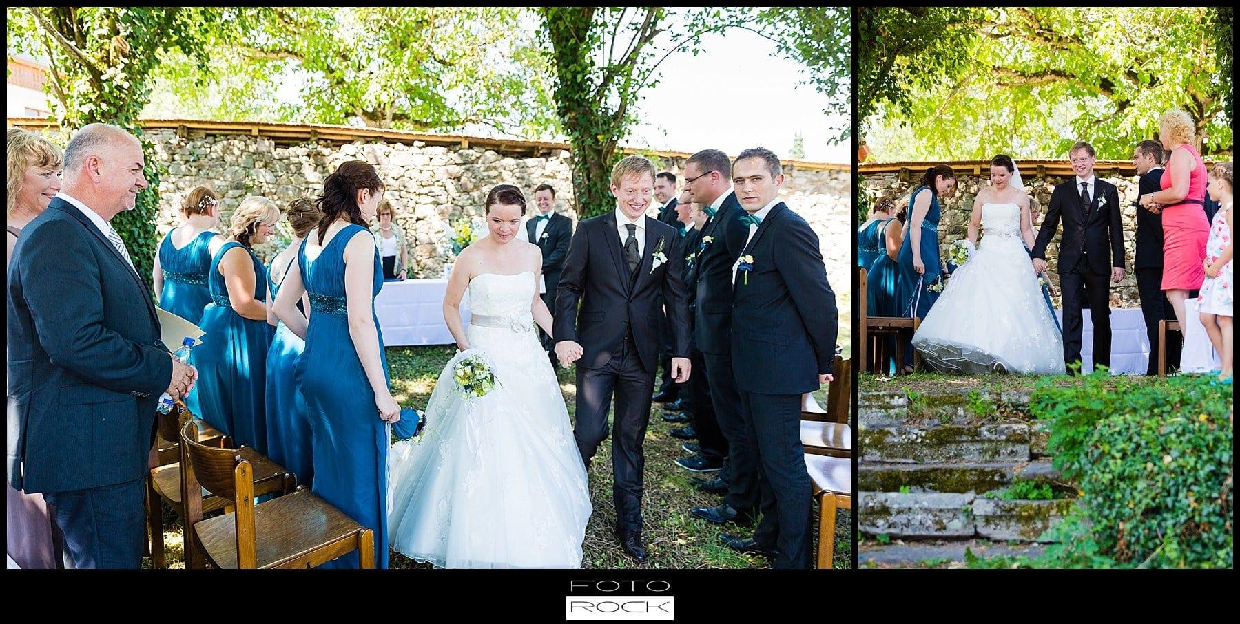 DIY Hochzeit Waldshut-Tiengen Brautpaar Weiße Tauben