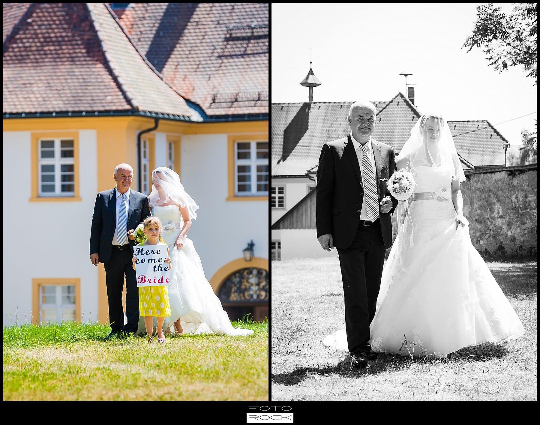 DIY Hochzeit Waldshut-Tiengen Brautpaar Outdoor Trauung