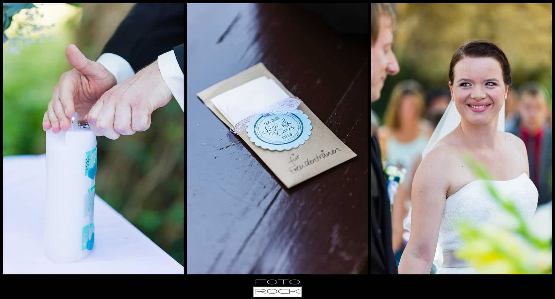 DIY Hochzeit Waldshut-Tiengen Brautpaar Trauung Freudentränen