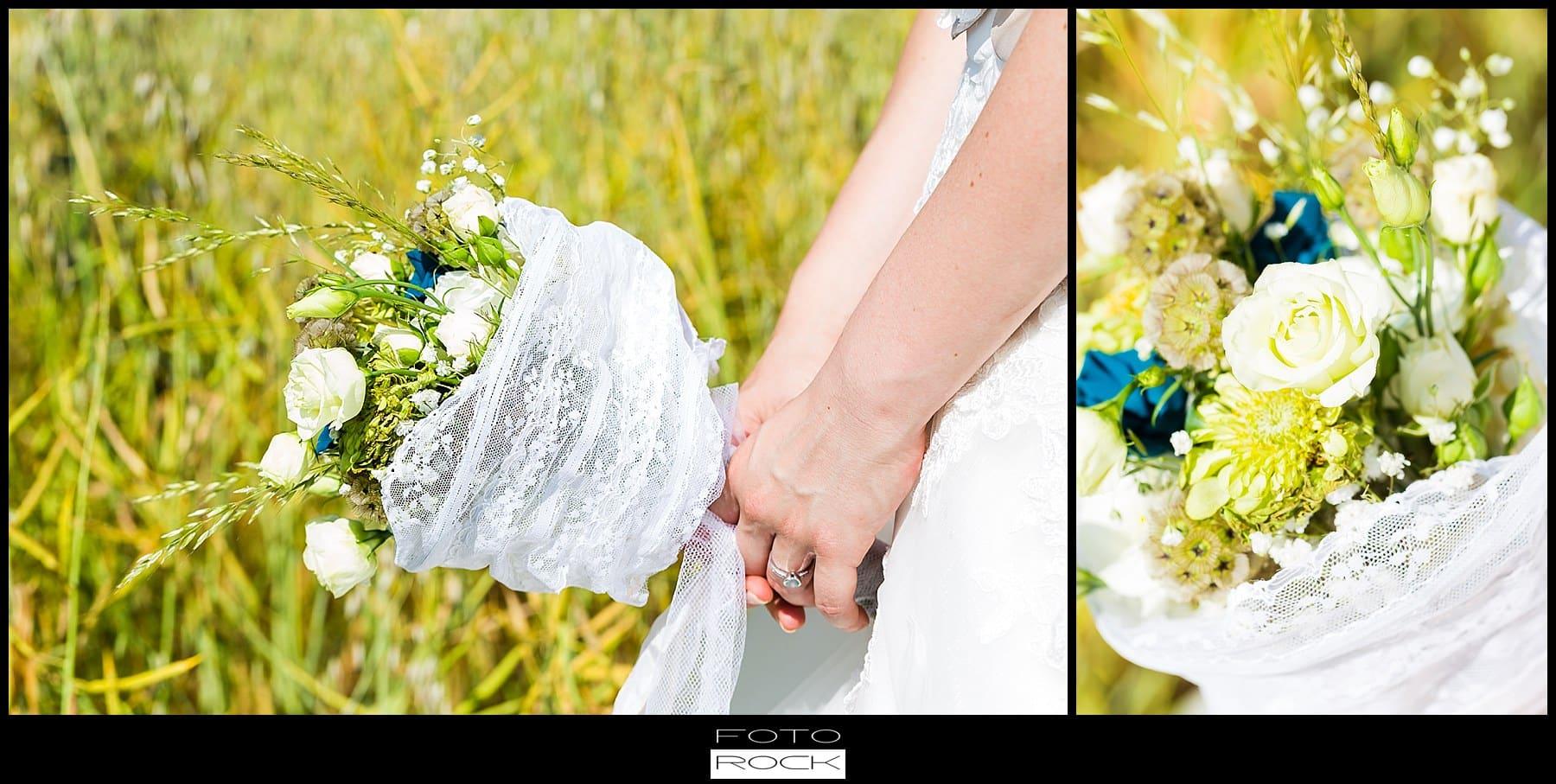 DIY Hochzeit Waldshut-Tiengen Brautstrauss Blumen Feld Wiese