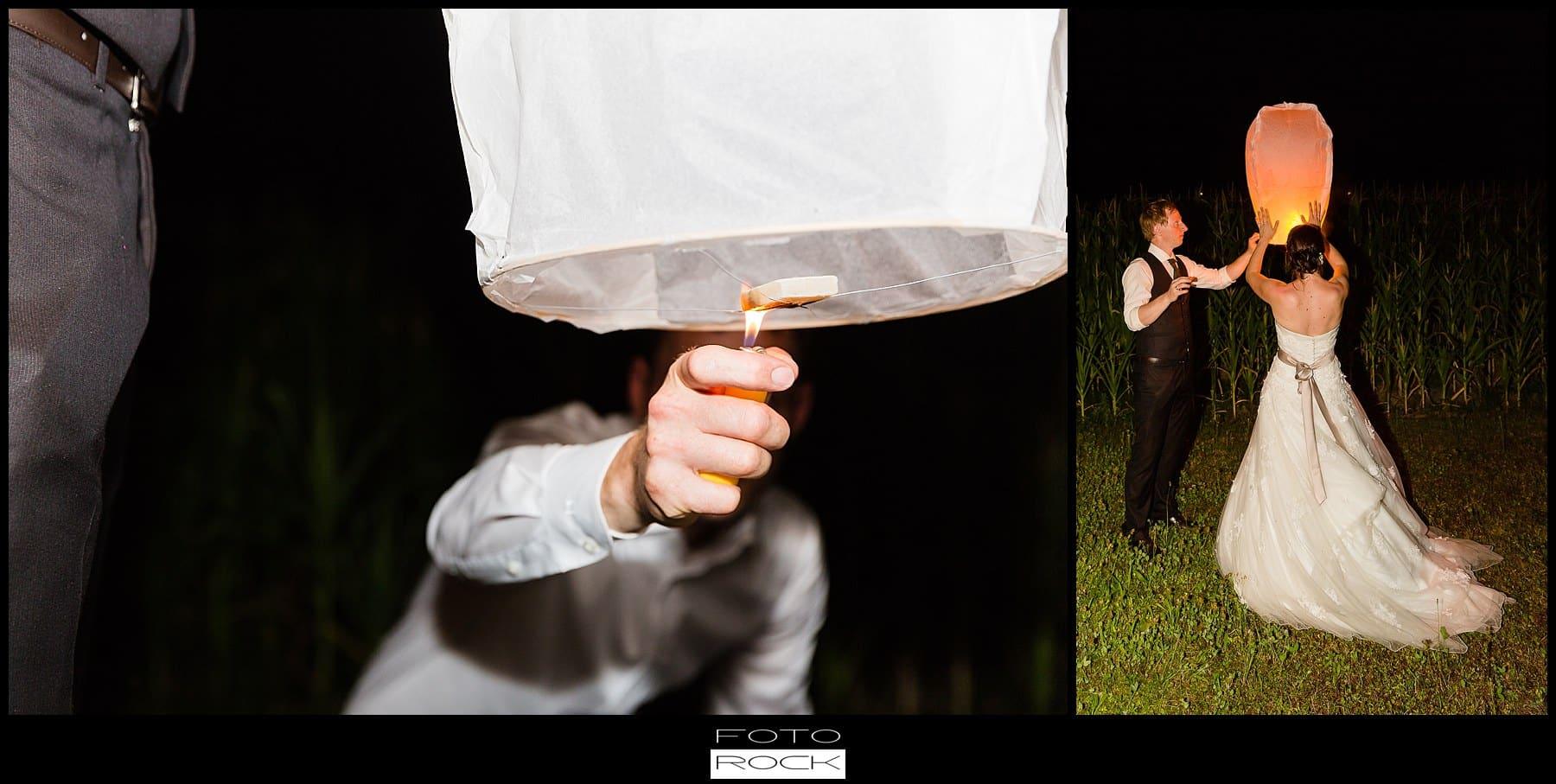 DIY Hochzeit Waldshut-Tiengen Ballon Kerze Heißluft Laterne