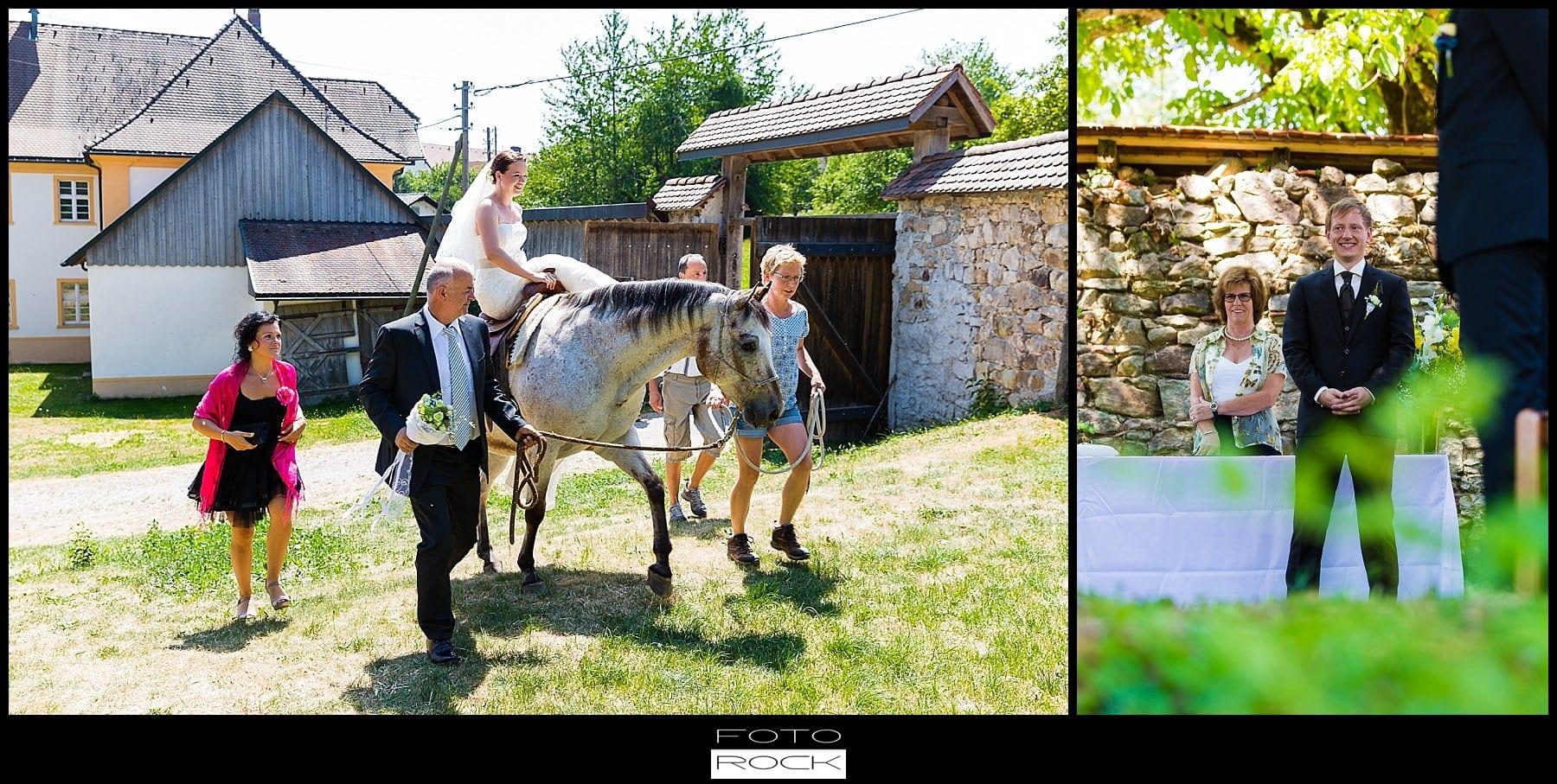 DIY Hochzeit Waldshut-Tiengen Braut Vater Kirche Kind