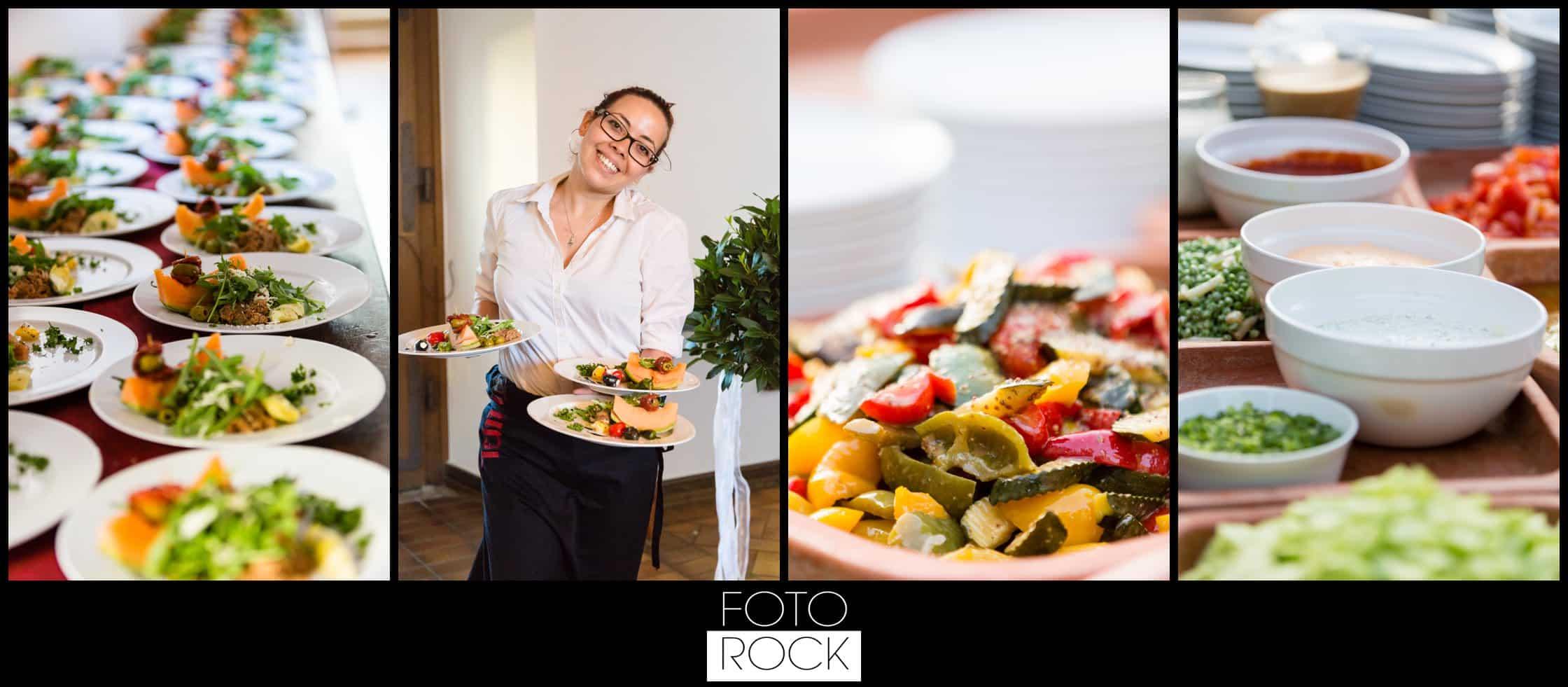 Hochzeit Jesuitenschloss Freiburg catering buffet essen salat