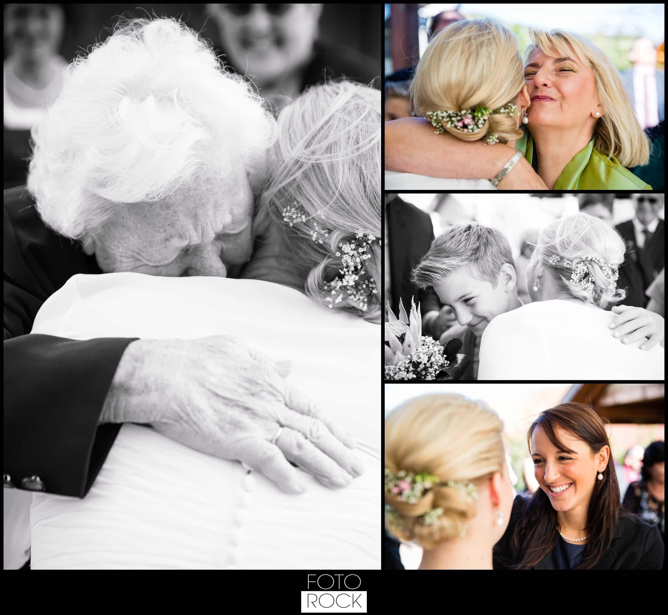 Hochzeit Adler Haeusern gratulation umarmung