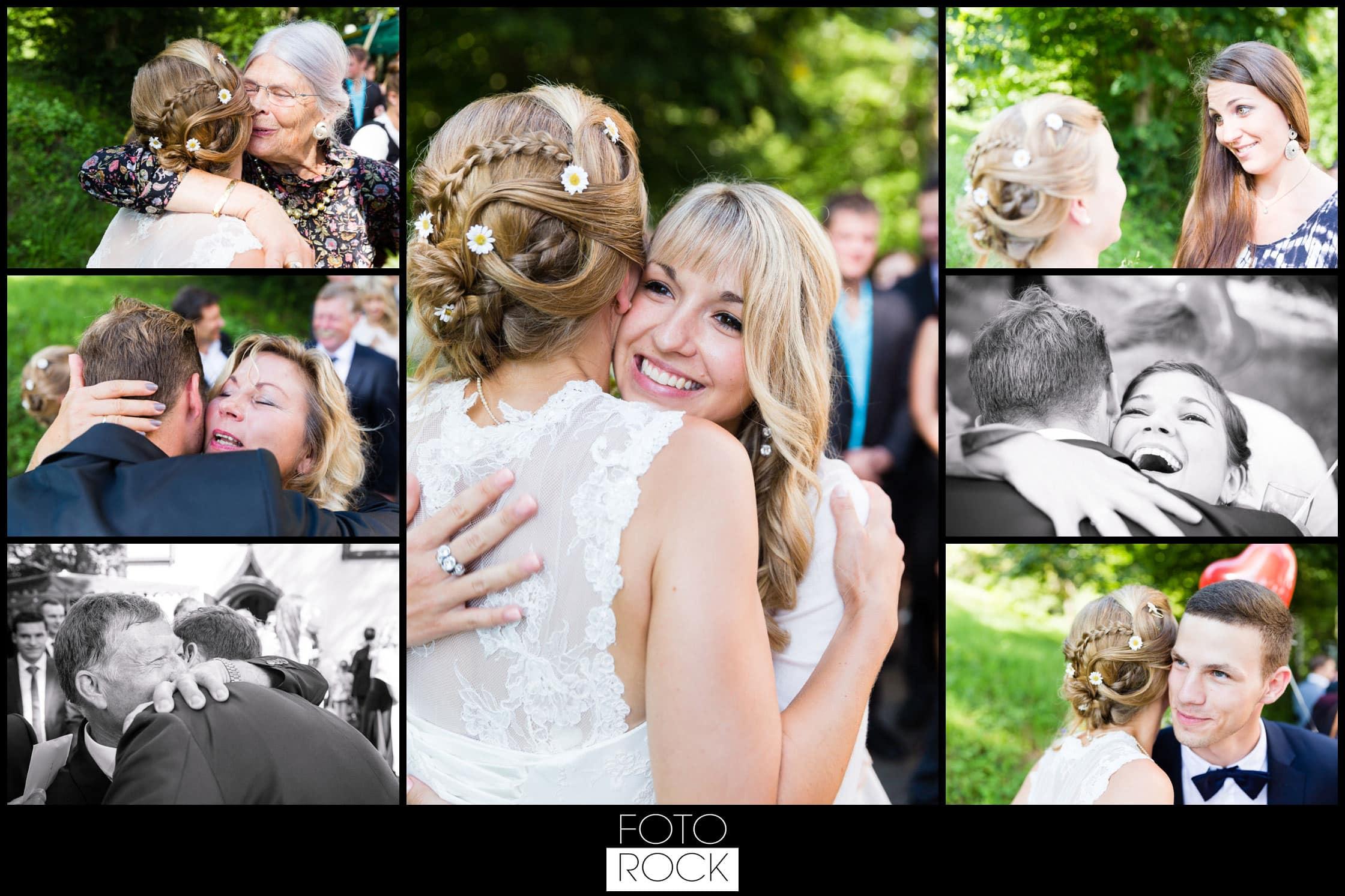 Hochzeit Elzach gratulation umarmung