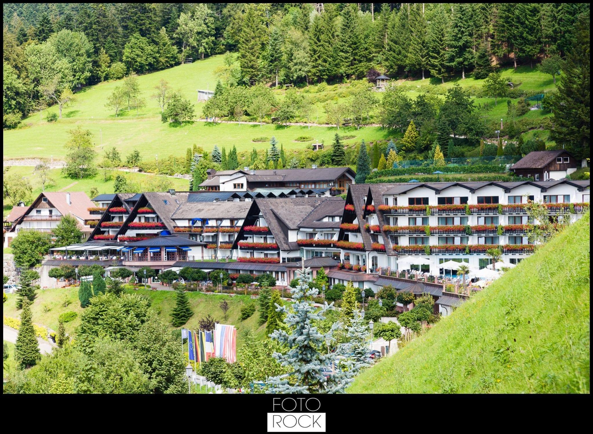 Hochzeit Dollenberg Bad Peterstal Landschaft Panorama