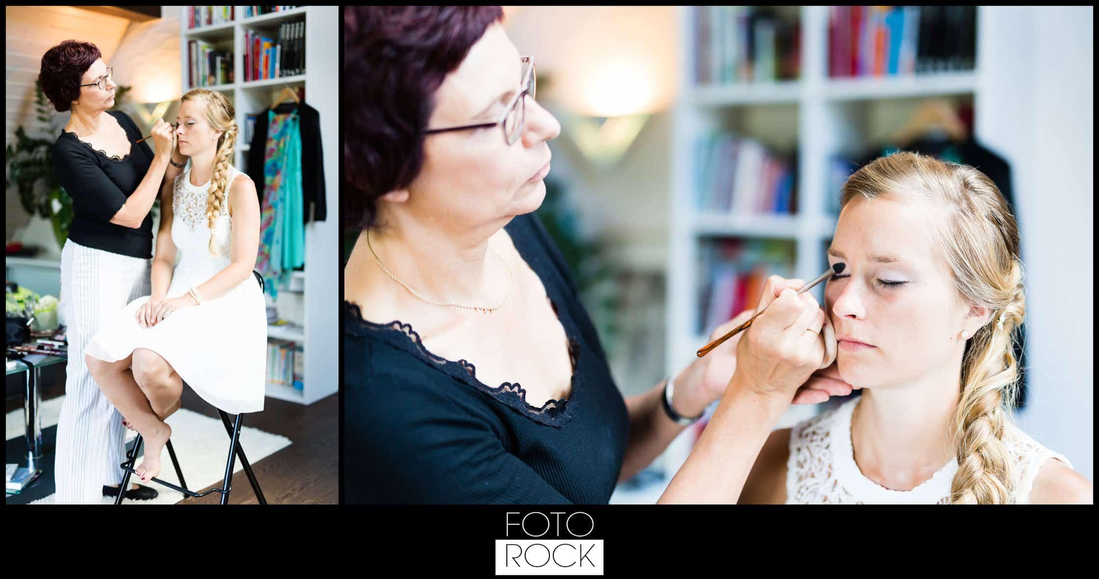 Hochzeit Elzach getting ready schminke makeup drogerie fischer