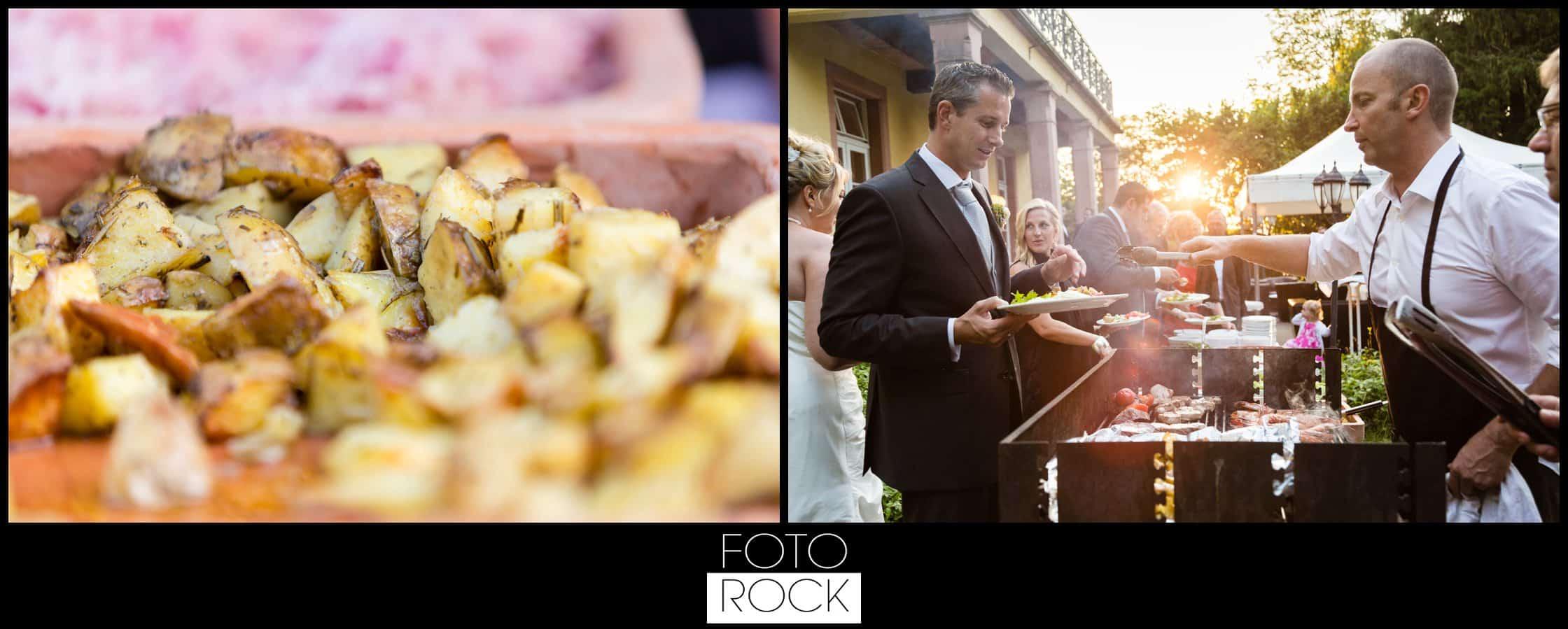Hochzeit Jesuitenschloss Freiburg catering buffet essen