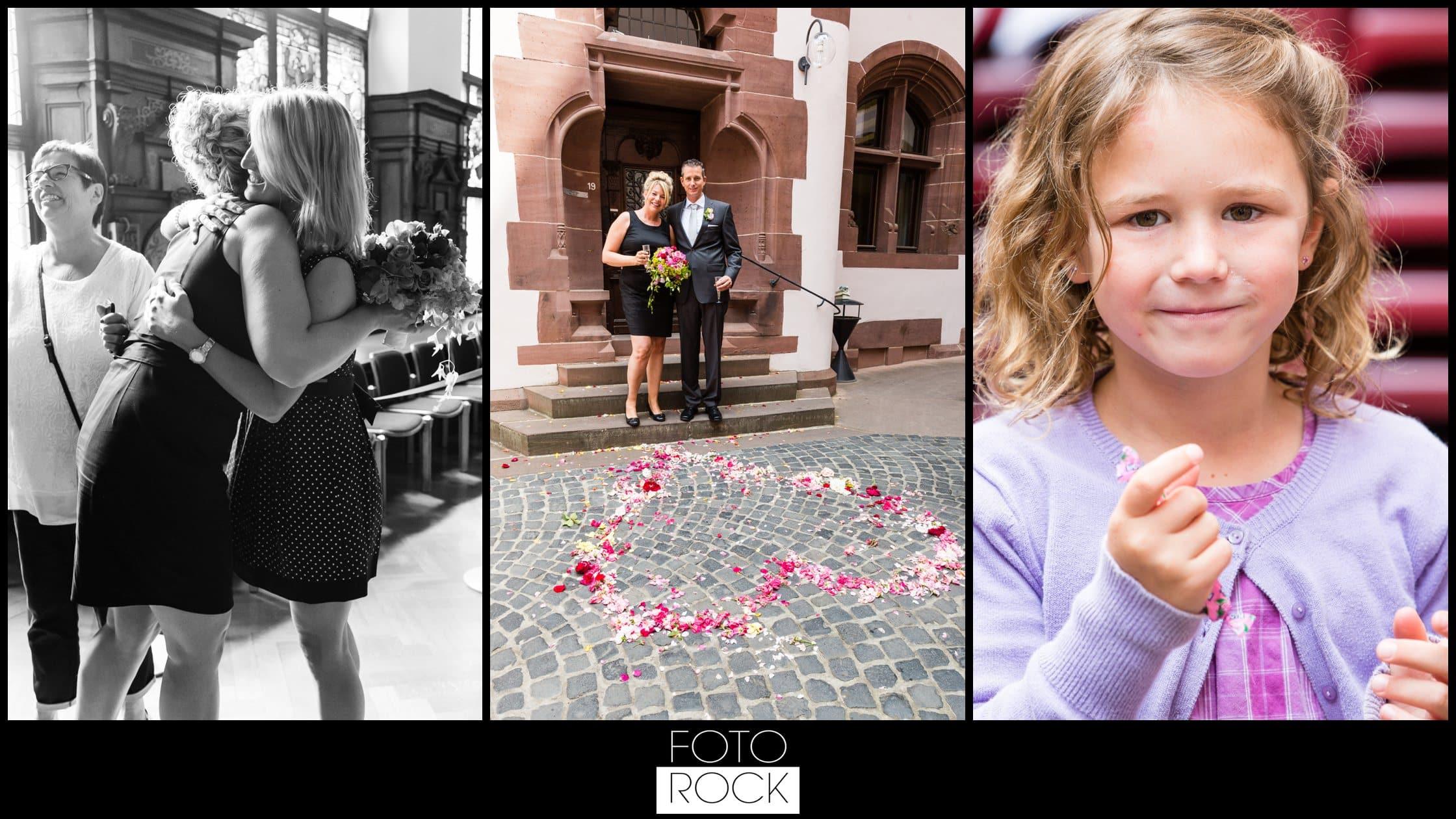 Hochzeit Jesuitenschloss Freiburg gratulation blumen herz kind