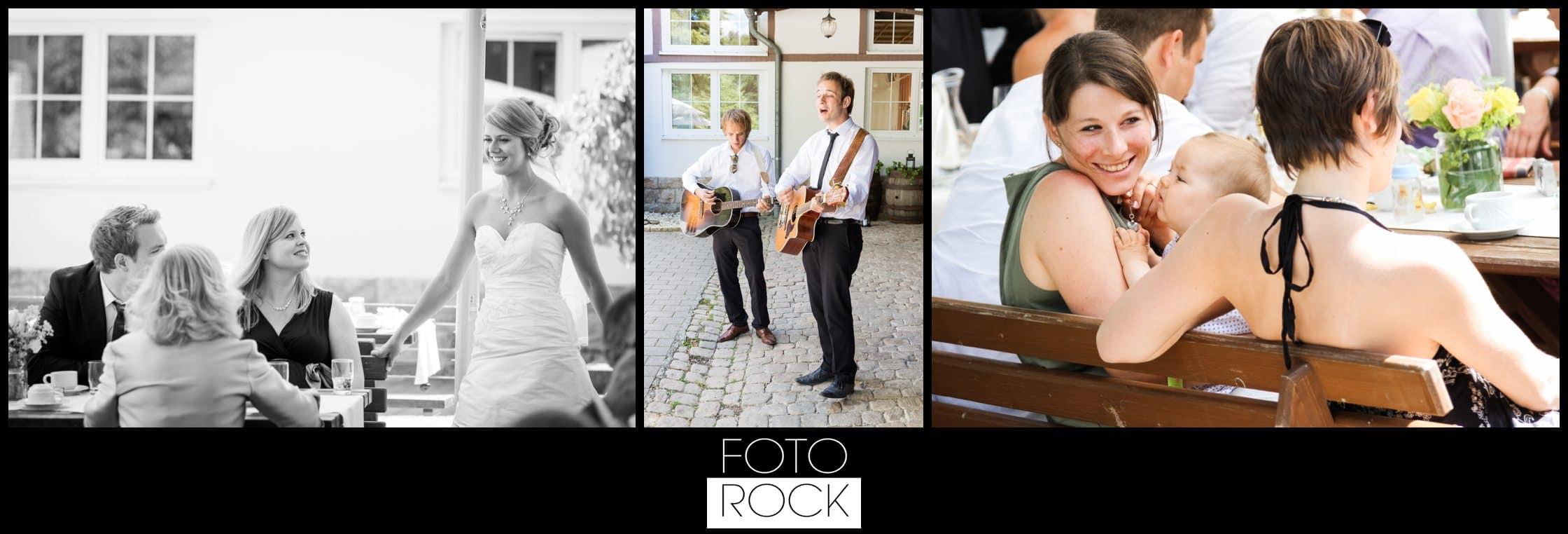 Hochzeit Lilienhof Ihringen Apero Gäste Musik