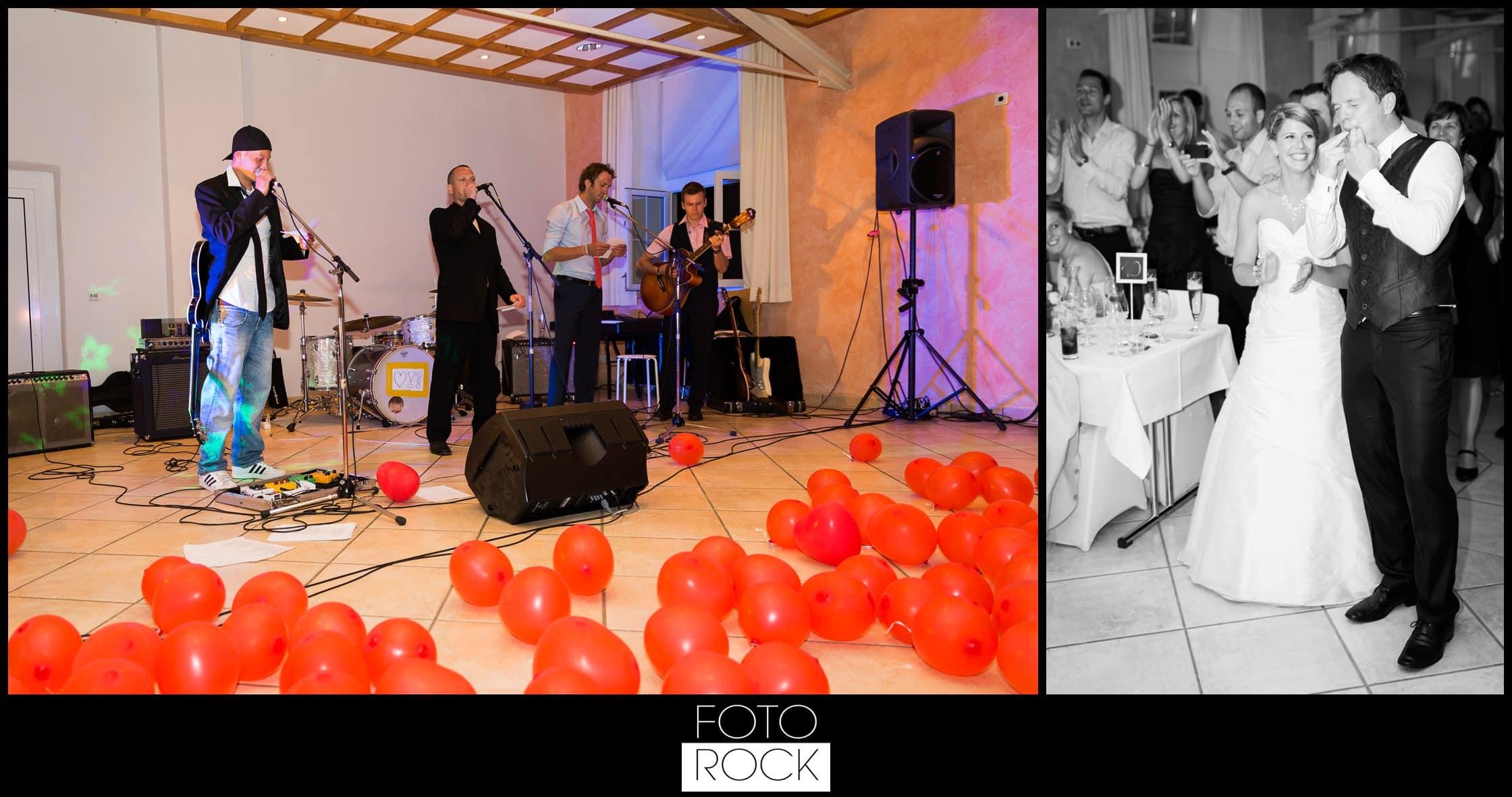 Hochzeit Lilienhof Ihringen Band Live Musik Brautpaar