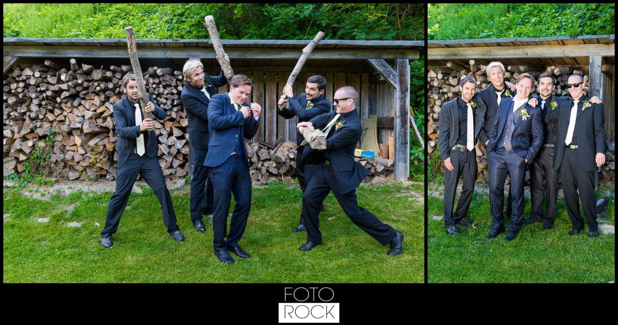 Hochzeit Lilienhof Ihringen Bräutigam Trauzeugen Best Men