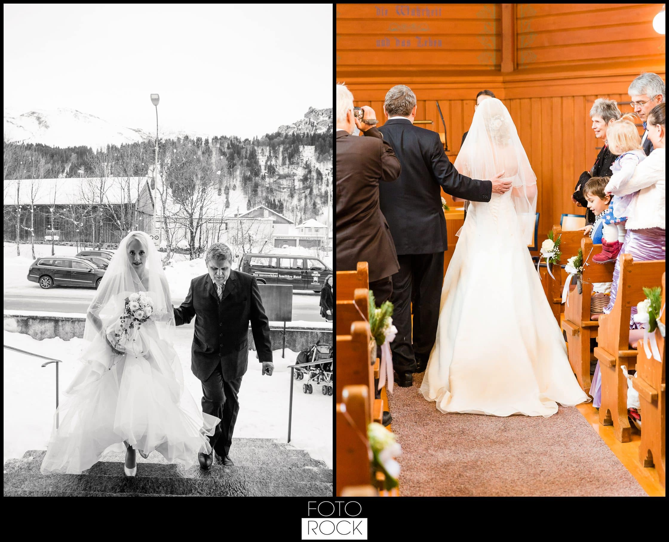 Hochzeit Winter Engelberg Papeterie Trauung