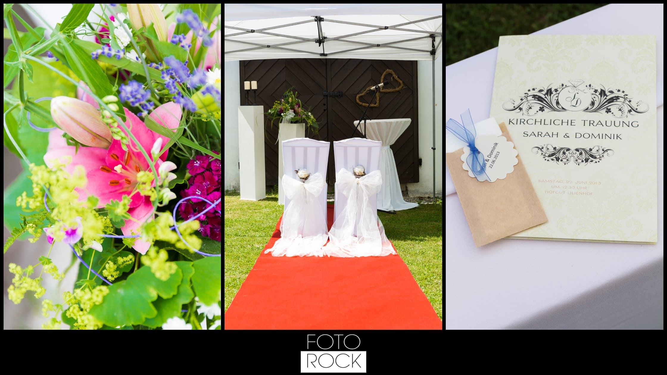 Hochzeit Lilienhof Ihringen Deko BLumen Wedding Chairs Dekoration Papeterie