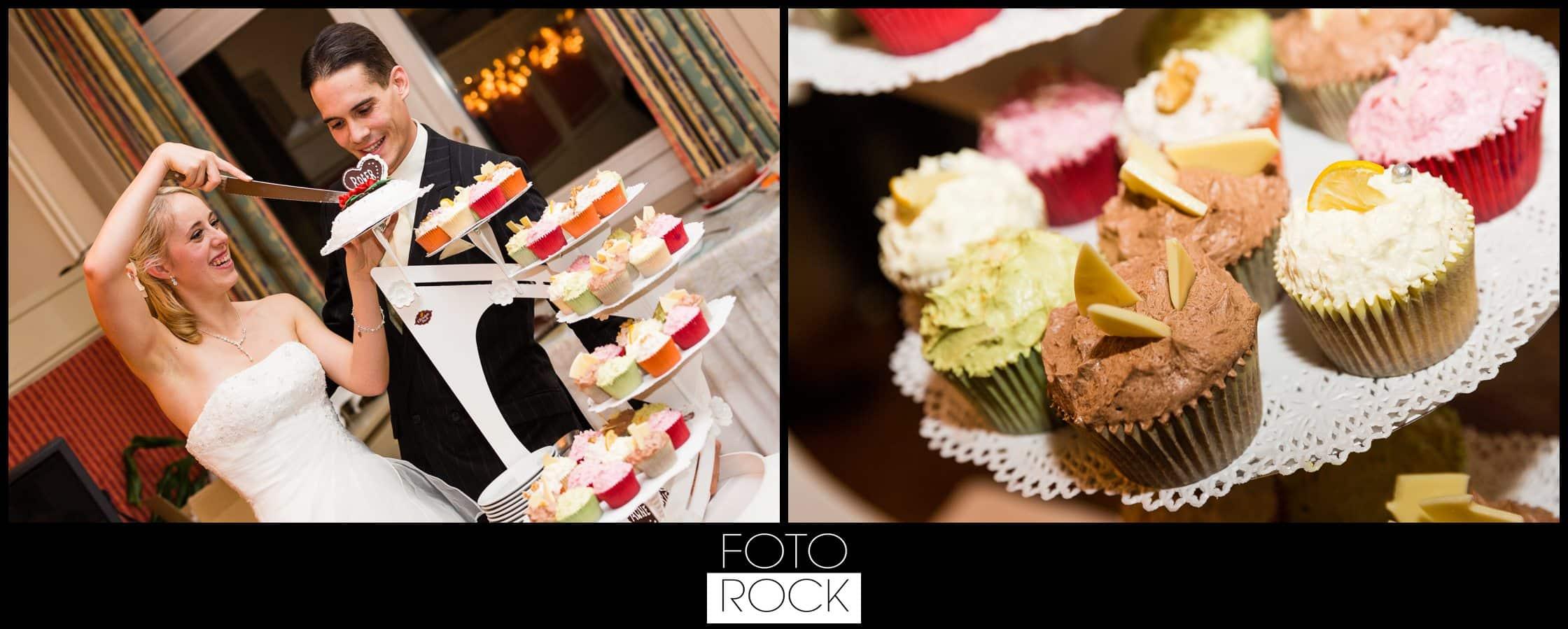 Hochzeit Winter Engelberg Hochzeitstorte Anschnitt Muffins Cupcakes