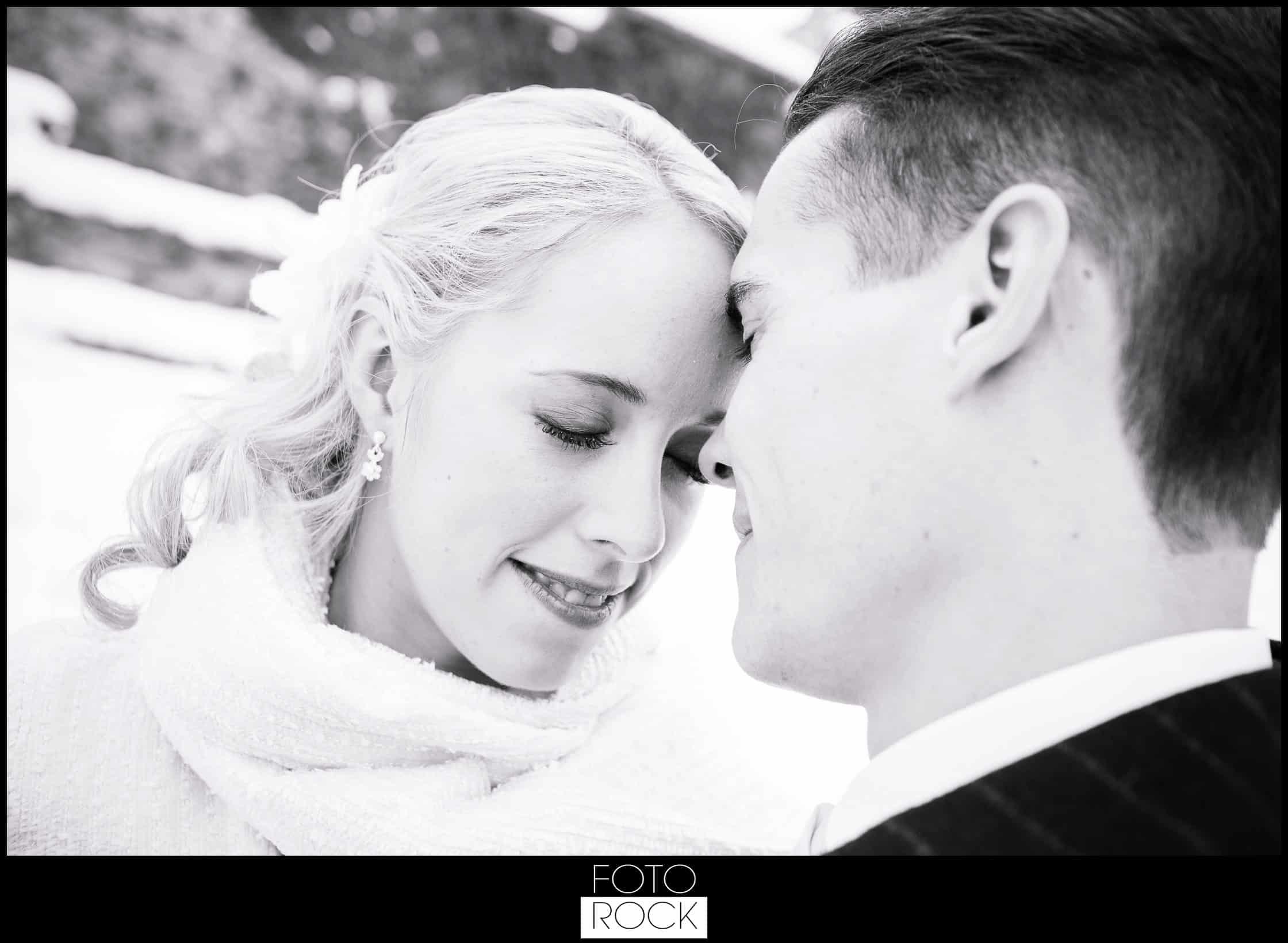 Hochzeit Winter Engelberg Brautpaar