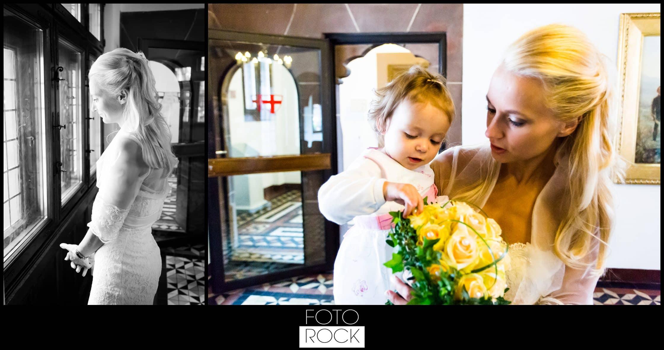 Hochzeit Parkhotel Adler Braut Tochter Kind Brautstrauss Standesamt