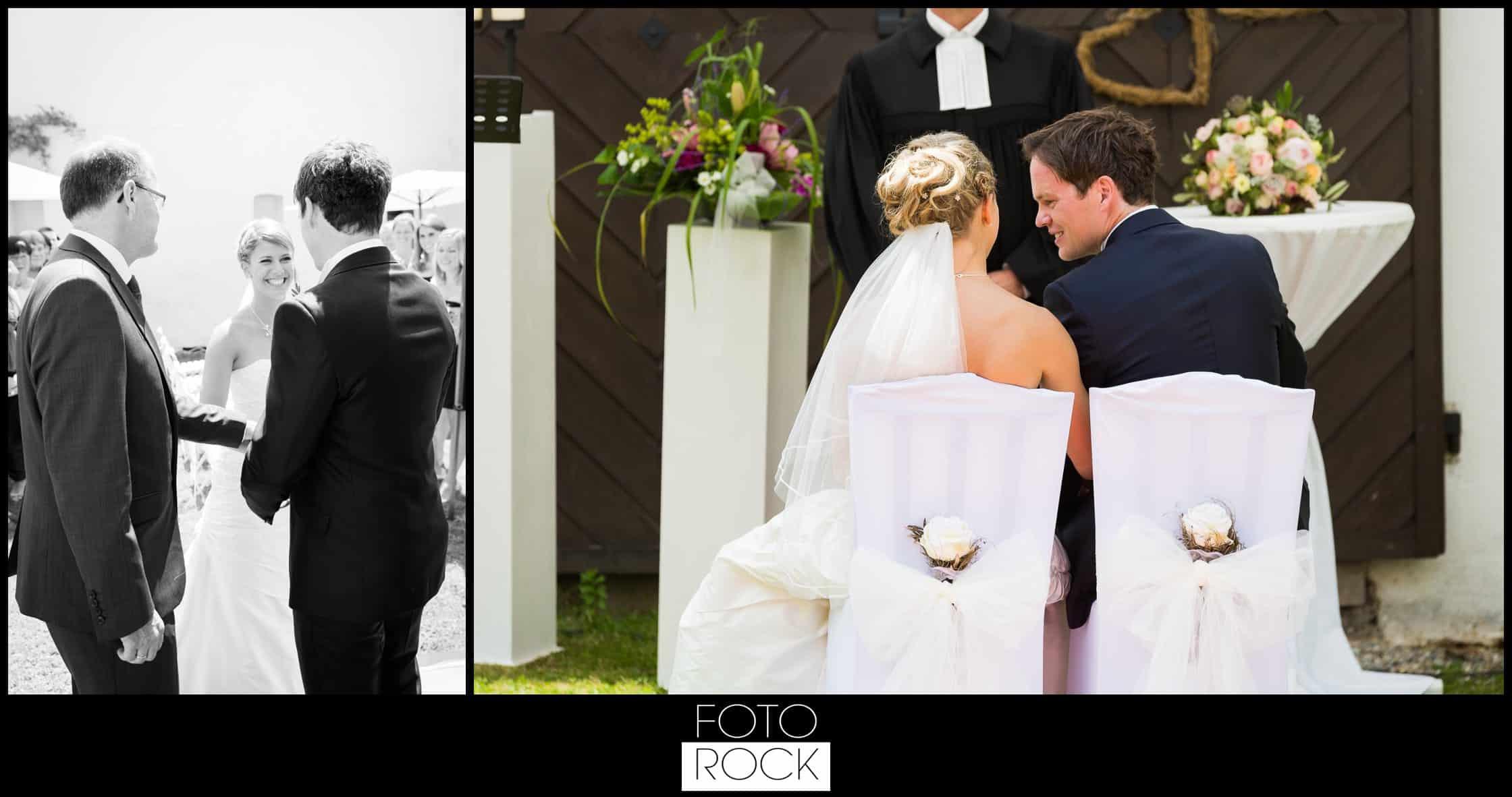 Hochzeit Lilienhof Ihringen Brautpaar Trauung Wedding Chairs Blumen