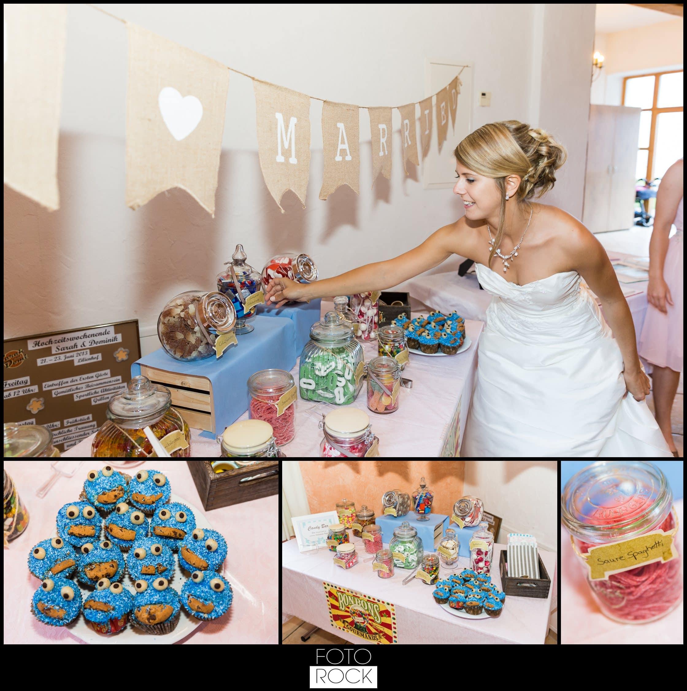 Hochzeit Lilienhof Ihringen Candy Bar Sweets Süßigkeiten