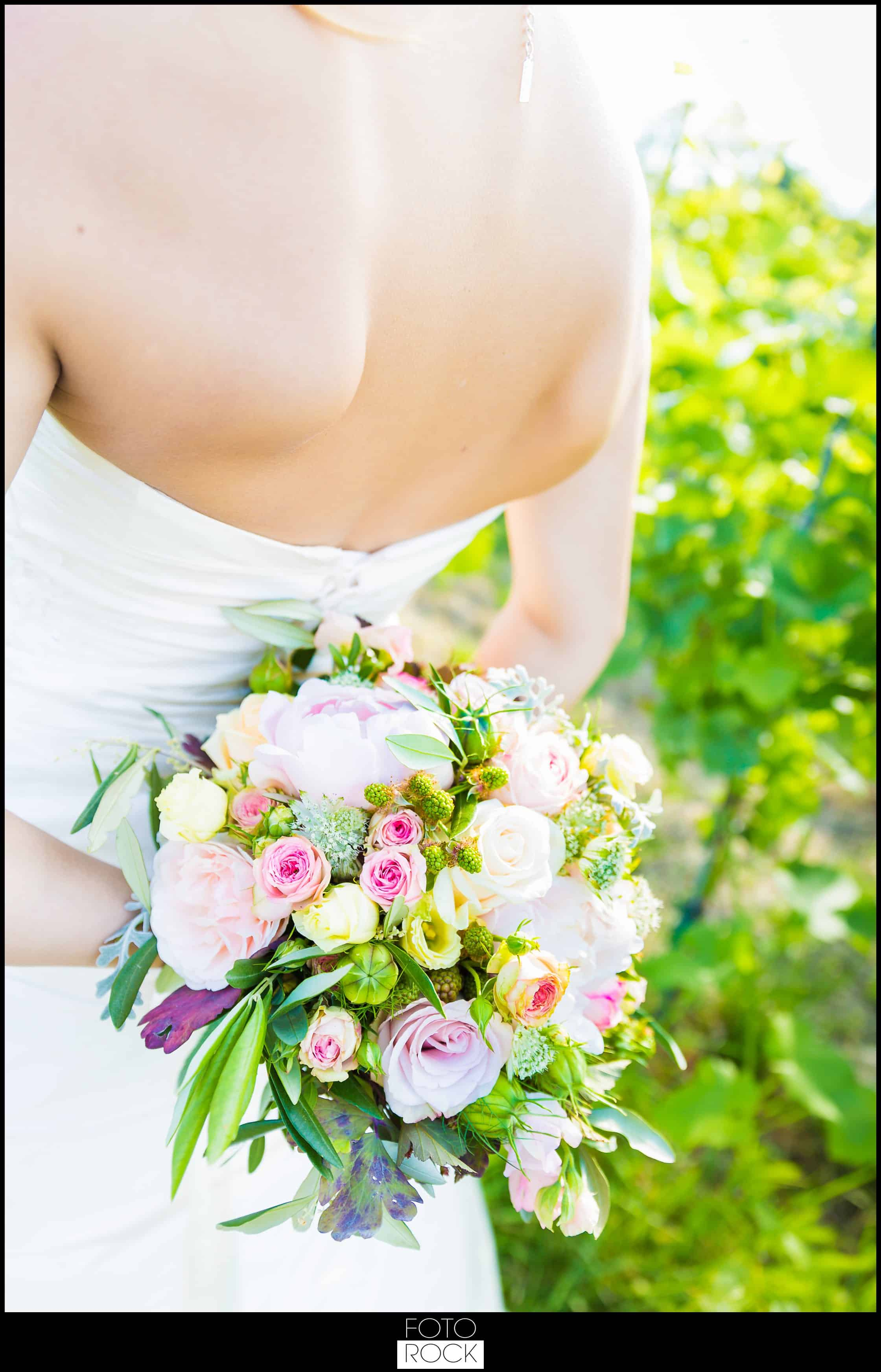 Hochzeit Lilienhof Ihringen Brautstrauss