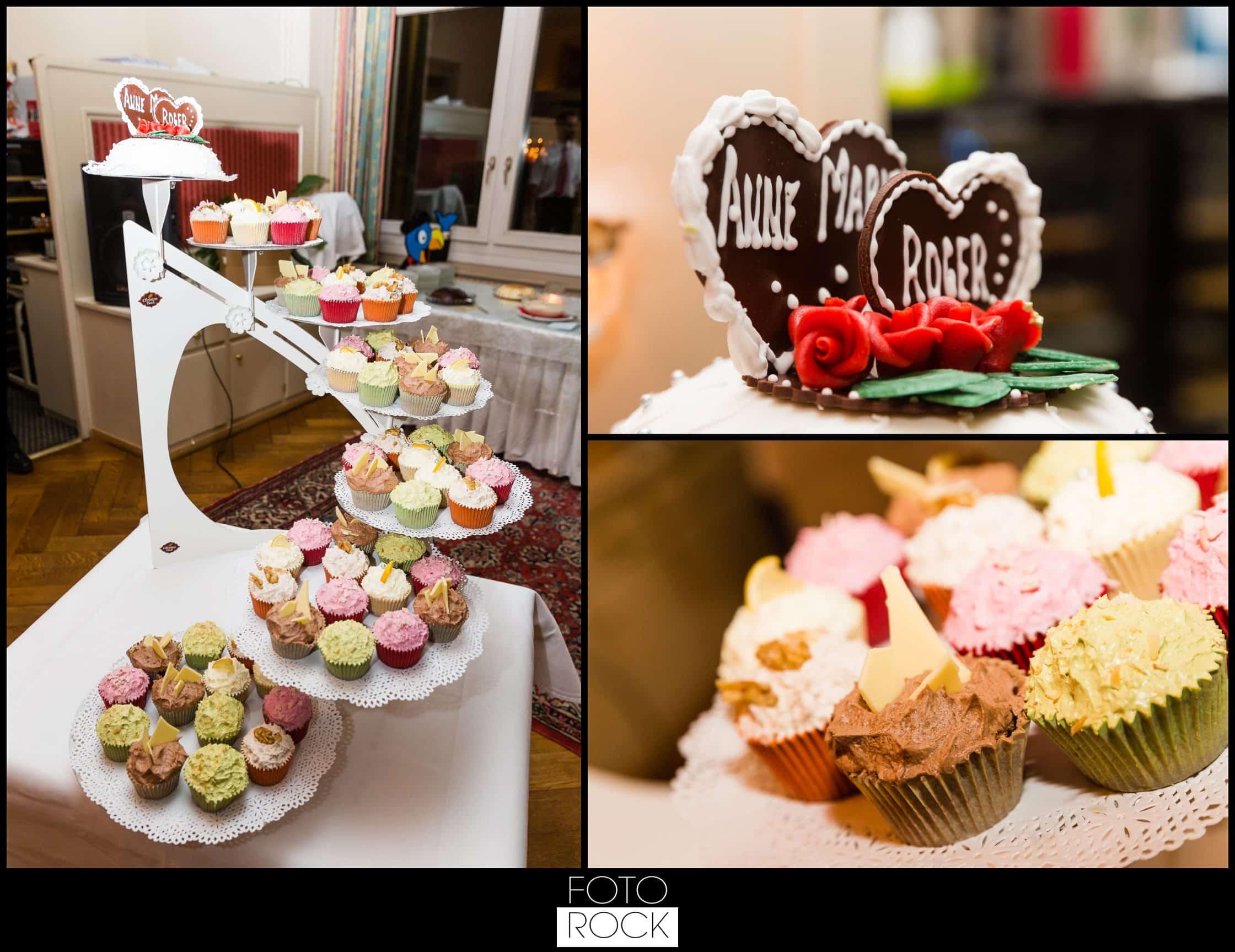 Hochzeit Winter Engelberg Muffin Cupcake Hochzeitstorte