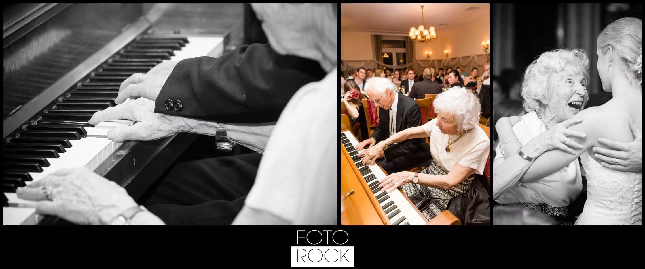 Hochzeit Winter Engelberg Klavier Tanz