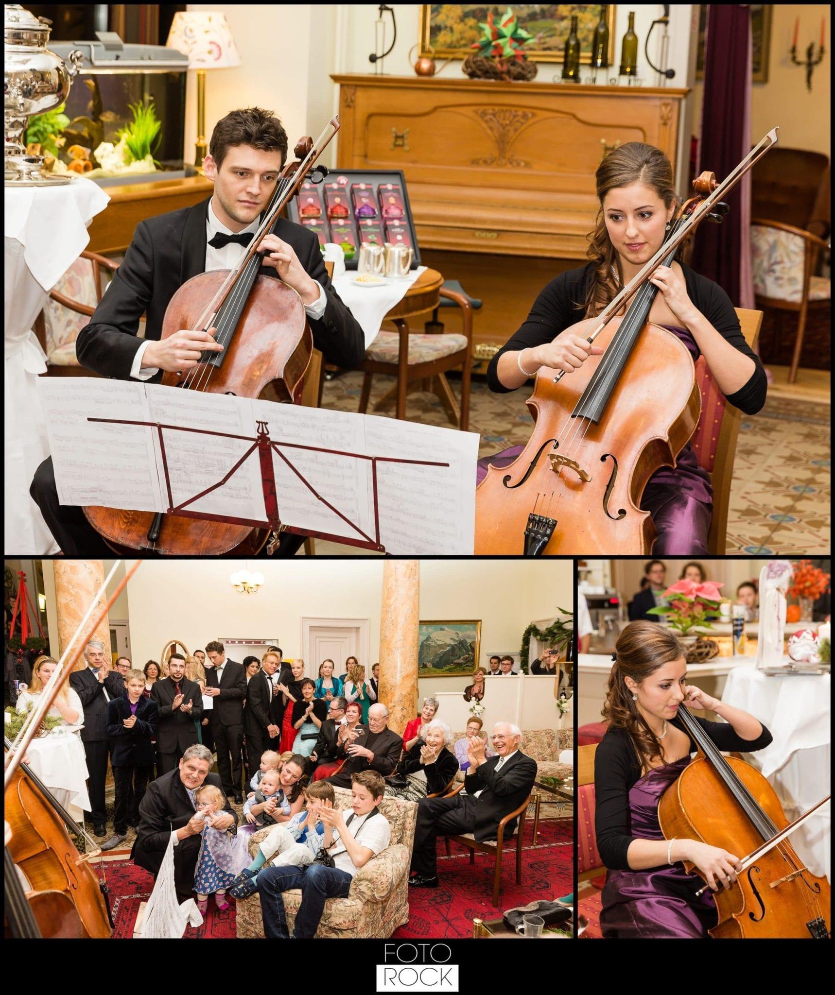 Hochzeit Winter Engelberg Location Musiker Musik Gäste