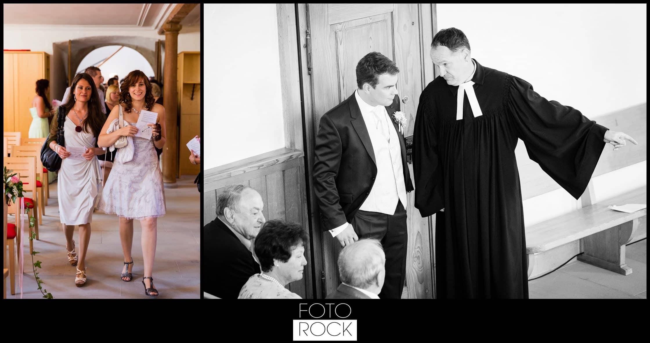 Hochzeit Rafz Albführen Kirche Gäste