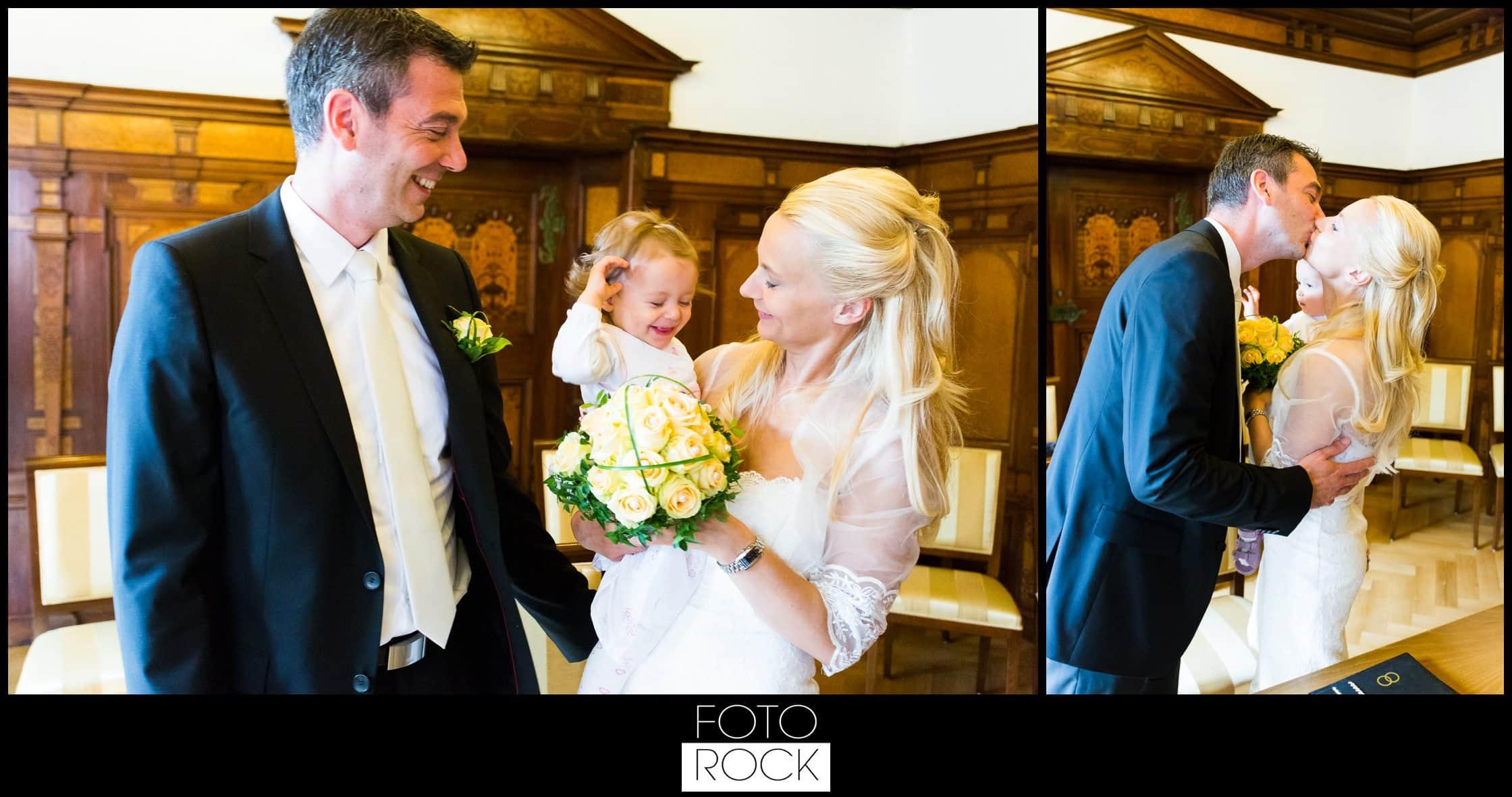 Hochzeit Parkhotel Adler brautpaar trauung ringtausch kuss