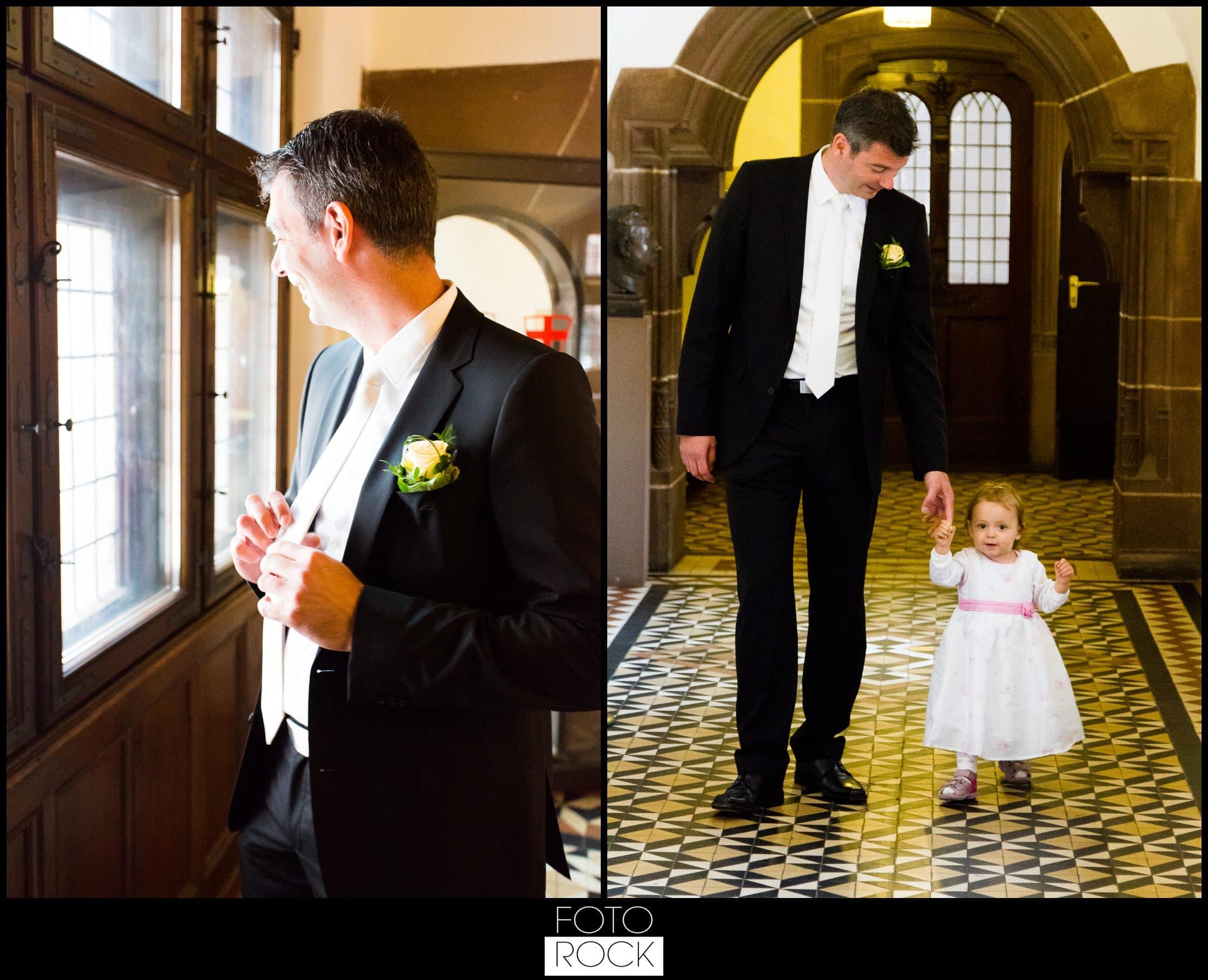 Hochzeit Parkhotel Adler Bräutigam Tochter Kind Standesamt