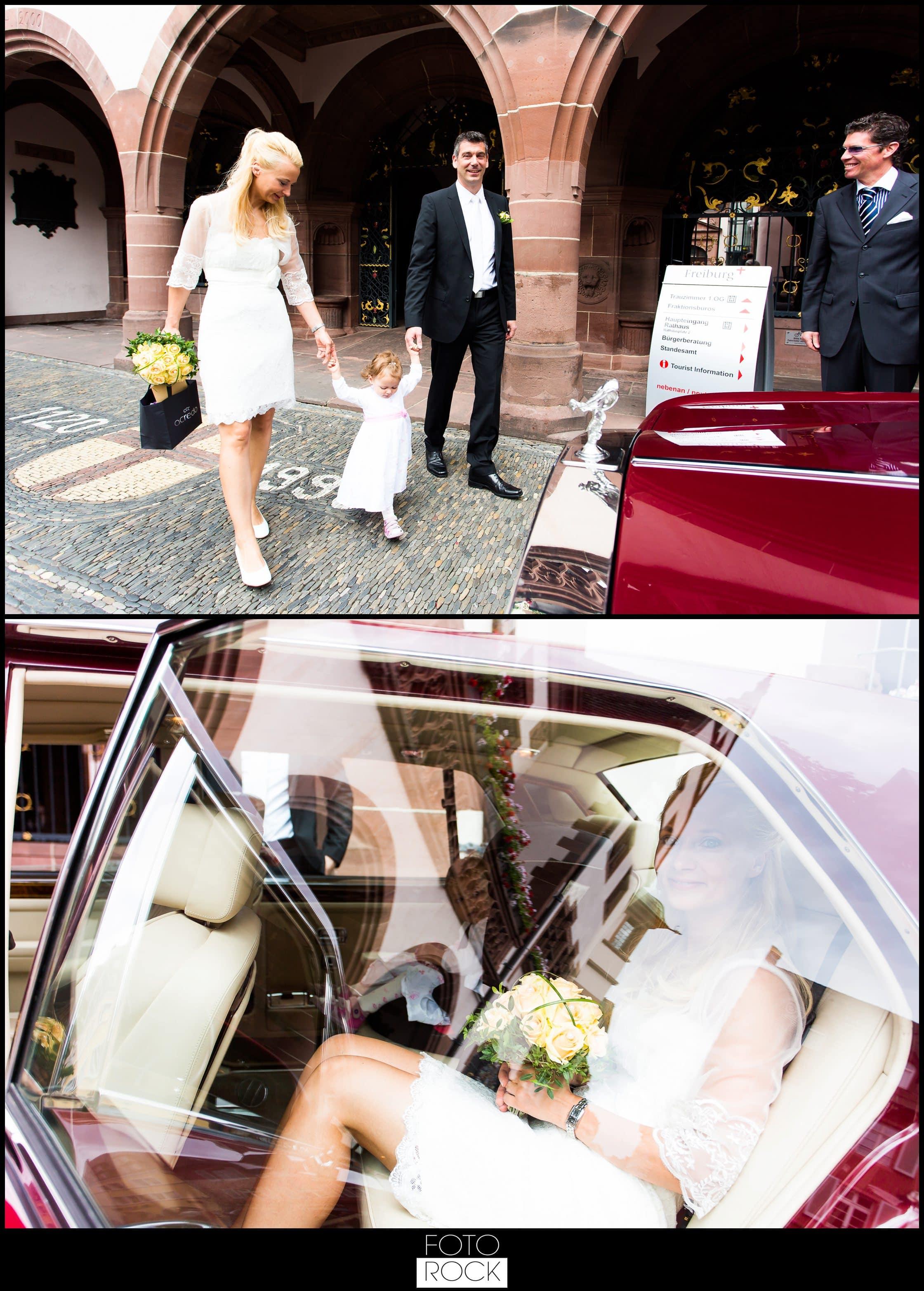 Hochzeit Parkhotel Adler auto standesamt rolls royce