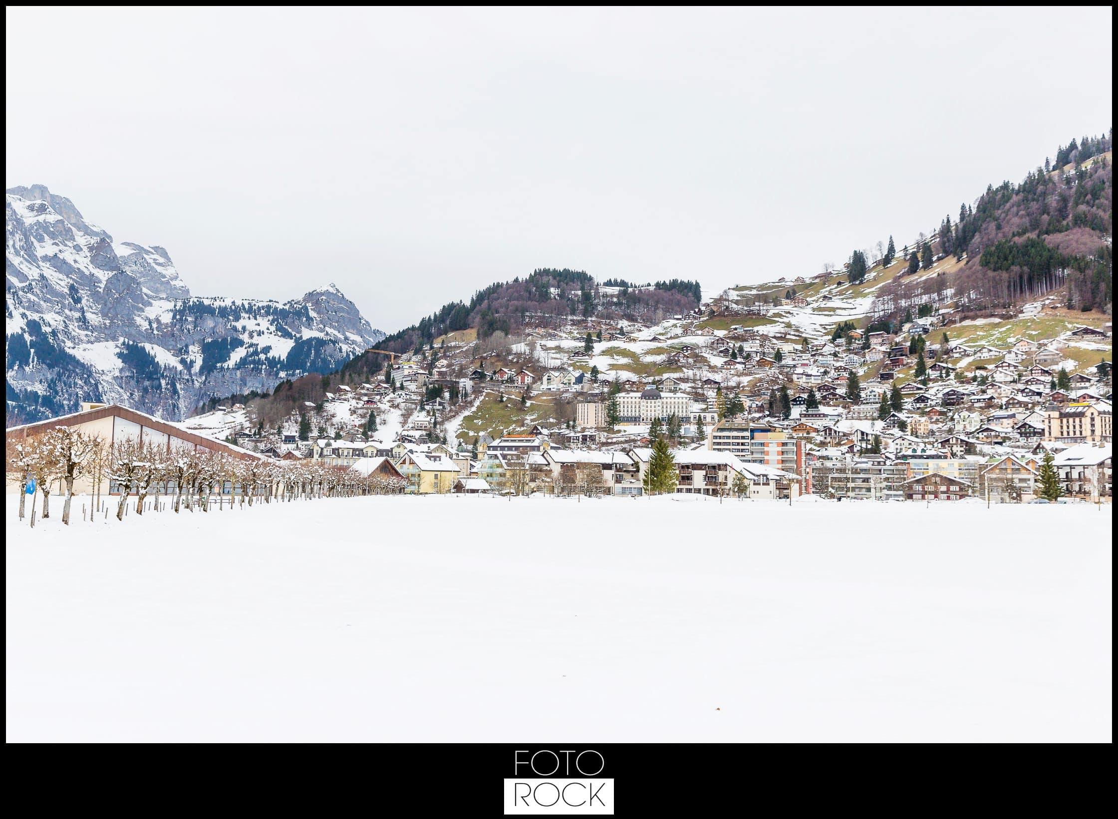 Hochzeit Winter Engelberg Panorama