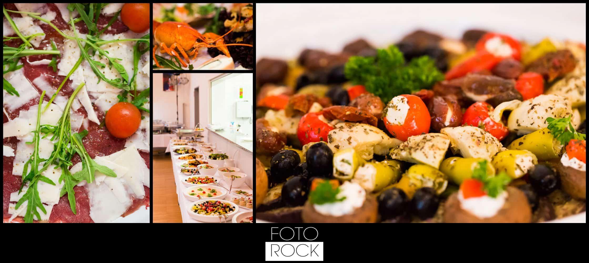 Hochzeit Vitra Design Museum Weil am Rhein Salat Buffet Essen