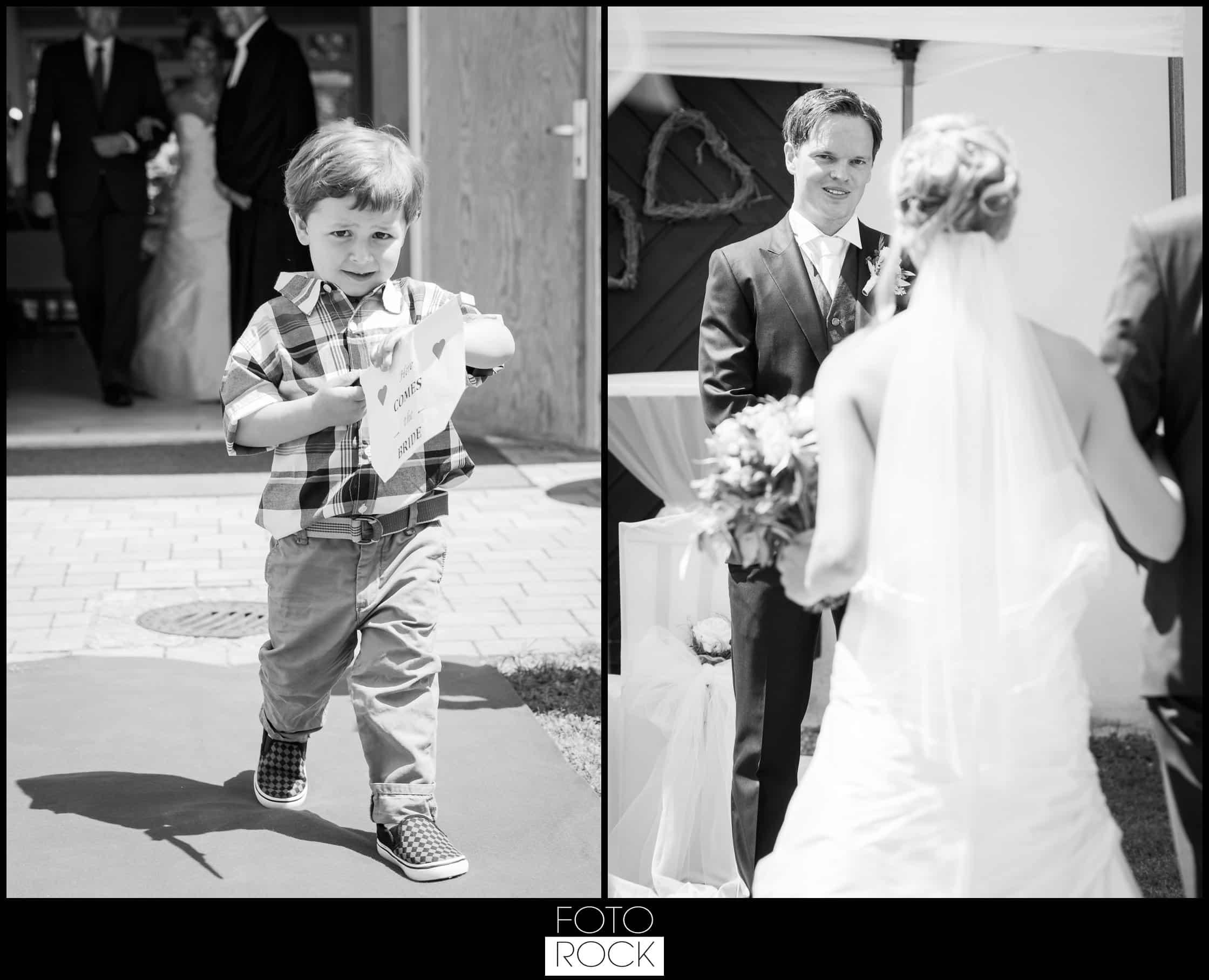 Hochzeit Lilienhof Ihringen Brautpaar Kind