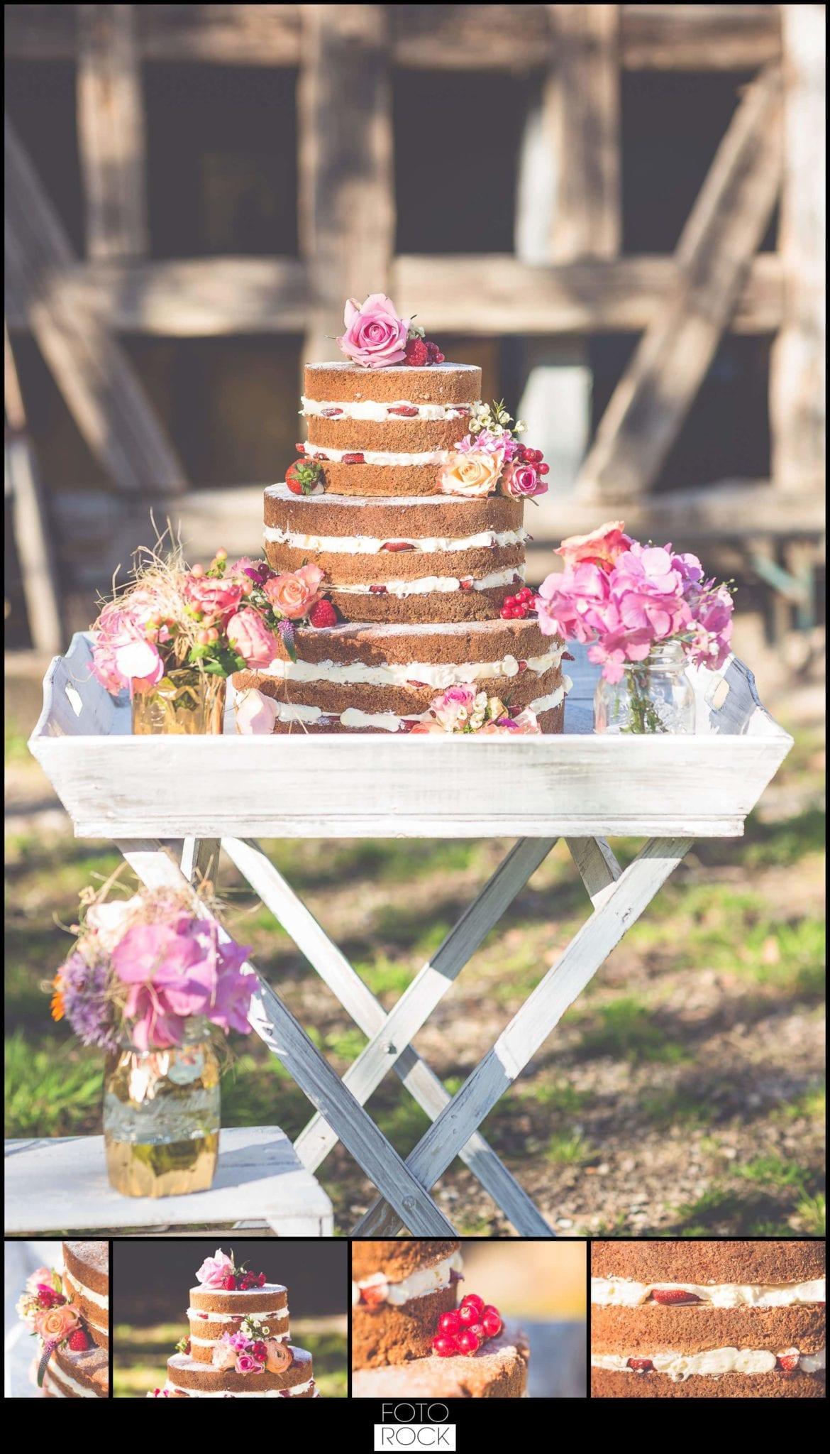 Bohemian Syled Shoot Hochzeit Klausenbauernhof Wolfach Hochzeitstorte Blumen Scheune Outdoor Details