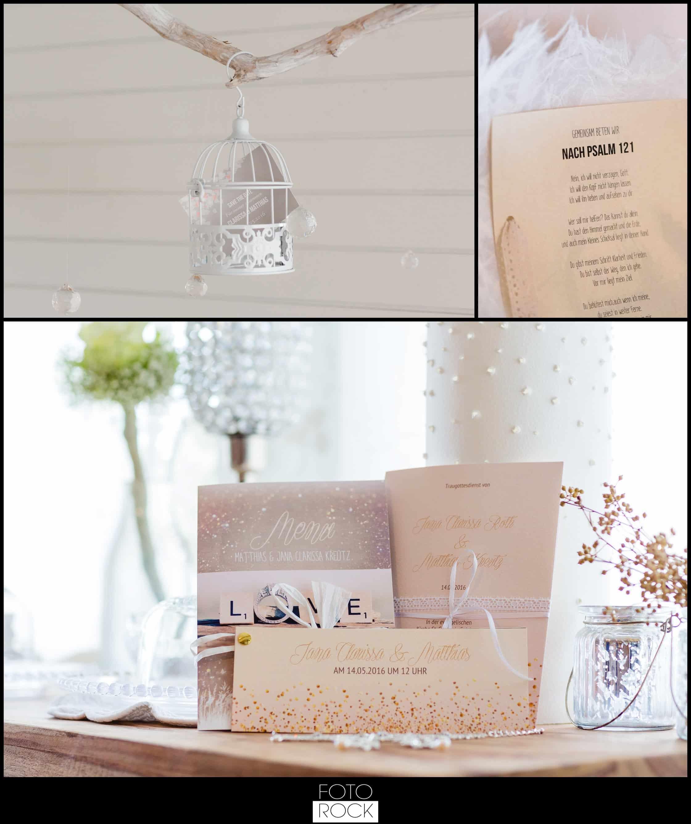 Hochzeit Lilienhof Ihringen Deko Dekoration Papeterie Karten