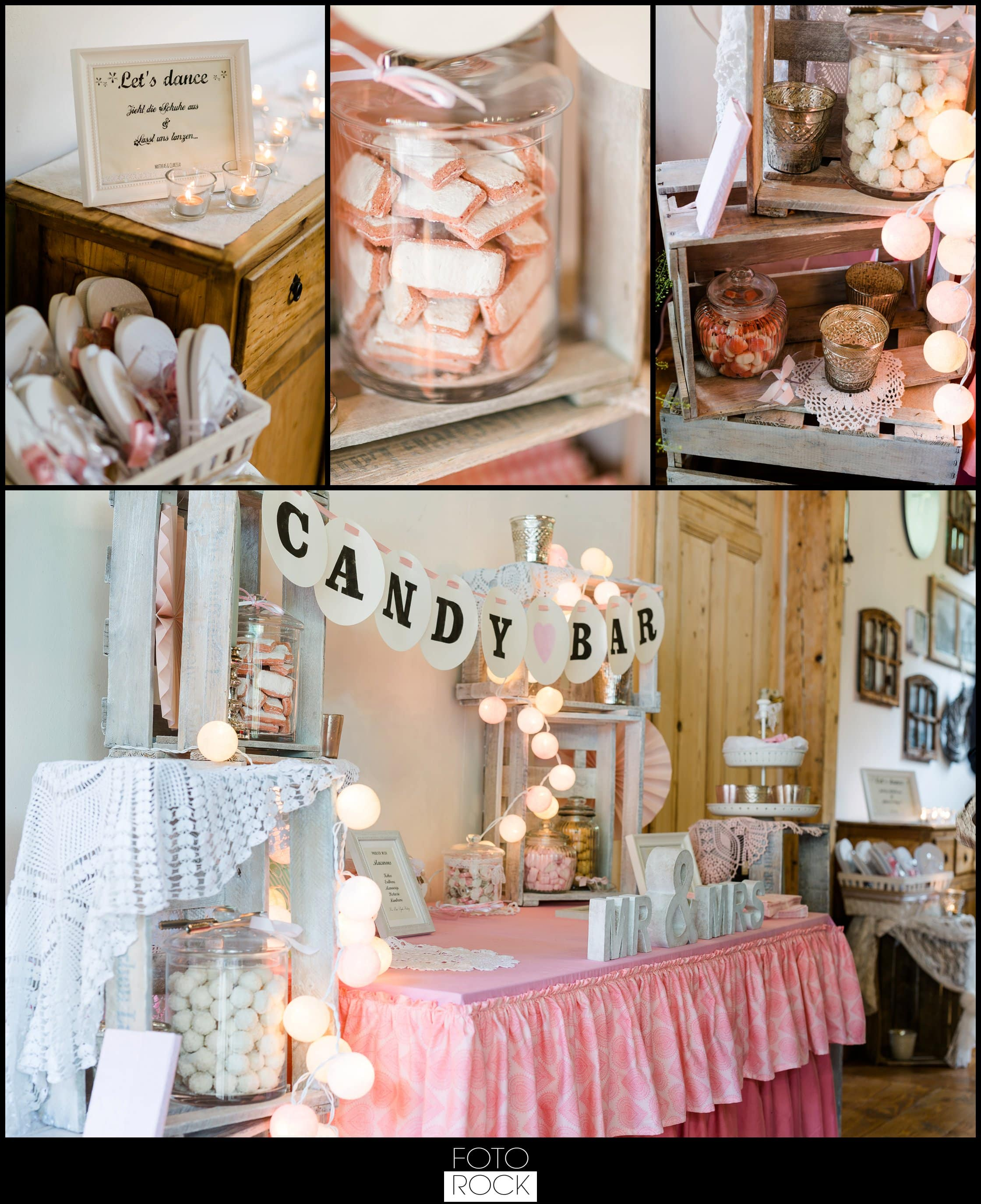Hochzeit Lilienhof Ihringen Kekse Sweets Süßigkeiten Tanzschuhe Candy Bar