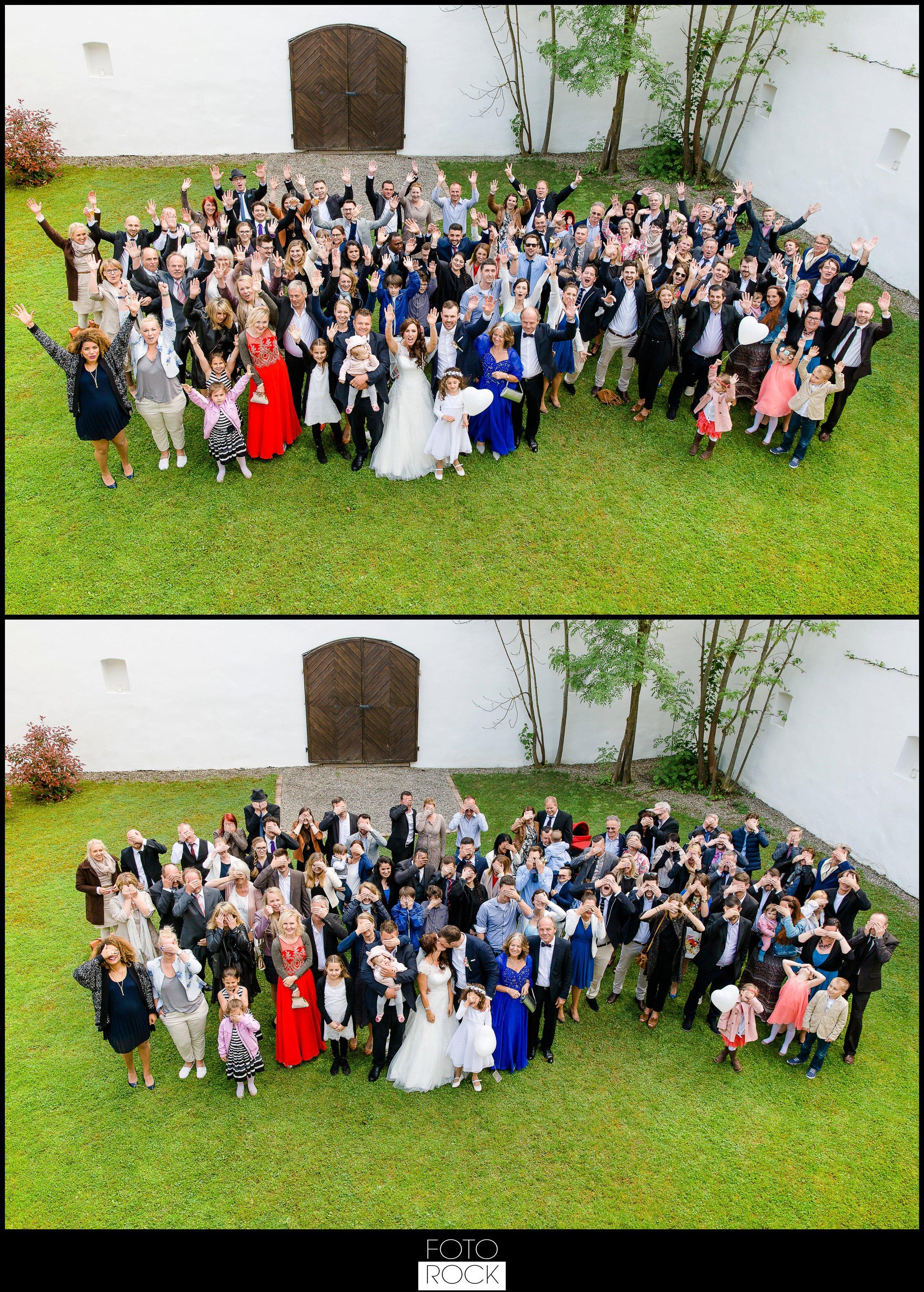 Hochzeit Lilienhof Ihringen Luftballons Himmel Herzen