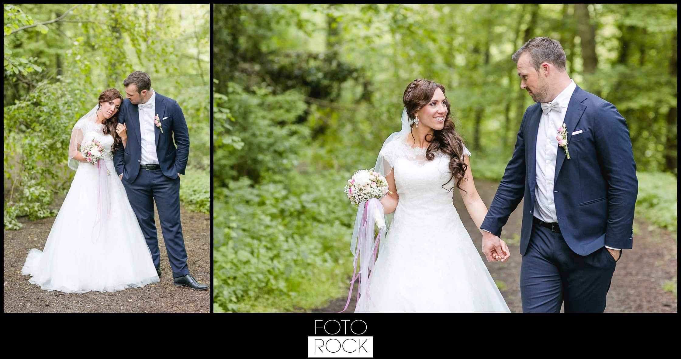 Hochzeit Lilienhof Ihringen Fotoshooting Photoshooting Brautpaar Wald