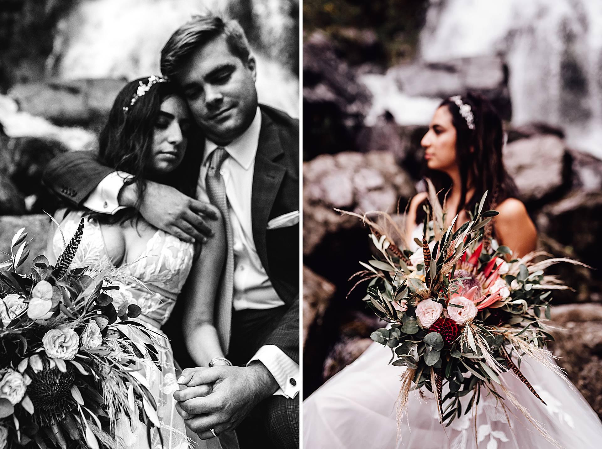 Brautstrauß aus Pampasgras